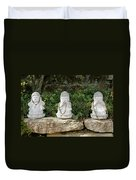 See Hear Speak No Evil Duvet Cover
