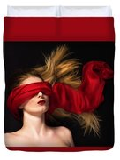 See No Evil Duvet Cover