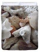 See Sea Shells Fom The Sea Duvet Cover
