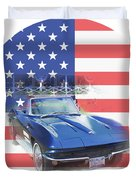See The Usa Duvet Cover