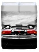 See You Later - Pontiac Trans Am Duvet Cover