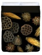 Seeds And Pods Duvet Cover