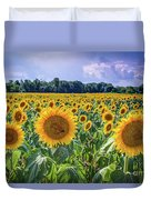 Seeds Of Hope Duvet Cover