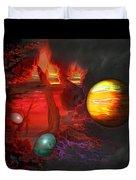 Seeds Of The Universe Duvet Cover