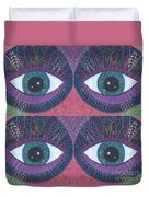 Seeing Double - Tjod 38 Compilation Duvet Cover