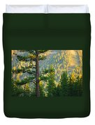Seeing The Forest Through The Tree Duvet Cover