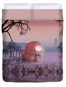 Seeking The Dying Light Of Wisdom Duvet Cover