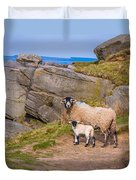 Seep And Lamb Duvet Cover