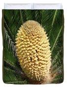 Sago Palm Flower Duvet Cover