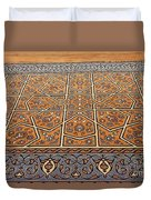 Sehzade Mosque Prayer Carpet Duvet Cover