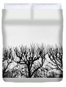 Seine River Trees Duvet Cover