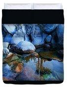 Sekani Rocks Tahoe Duvet Cover