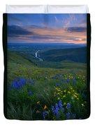 Selah Sunset Duvet Cover