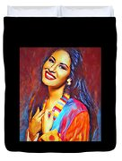 Selena Queen Of Tejano  Duvet Cover