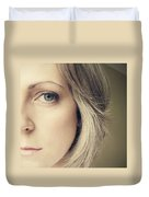 Self-portrait Duvet Cover