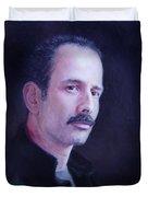 Self Portrait Duvet Cover