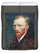 Self Portrait Vincent Van Gogh Duvet Cover