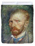 Self-portrait Duvet Cover by Vincent Van Gogh
