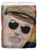 Self Portrait With Sunglasses Duvet Cover