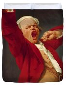 Self Portrait Yawning 1783 Duvet Cover