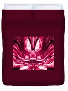 Self Reflection - Pink Duvet Cover
