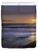 Selkirk Shores Sunset Duvet Cover