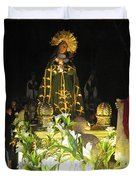 Semana Santa Procession Night Duvet Cover