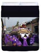 Semana Santa Procession V Duvet Cover
