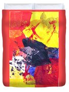 Semi-abstract Collage Duvet Cover