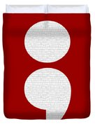 Semicolon 011 Duvet Cover