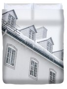 Seminary Of Quebec City In Old Town Duvet Cover