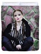 Senior Portrait Duvet Cover