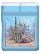 Senita Cactus Duvet Cover