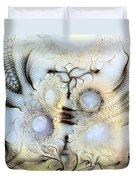 Sensorial Paroxysm Duvet Cover by Casey Kotas
