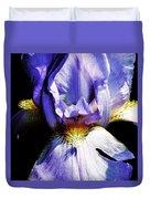 Sensual Iris Duvet Cover
