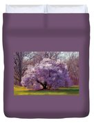 Sensual Secrets Where Passion Blooms Duvet Cover