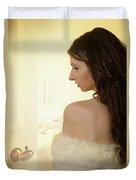 Sensual Woman Duvet Cover