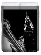 Sentinel For Grand Central Duvet Cover