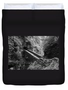Sentry Bridge At Watkins Glen Duvet Cover