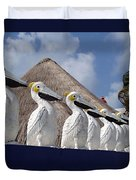 Sentry Pelicans Duvet Cover