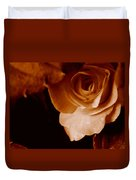 Sepia Series - Rose Petals Duvet Cover