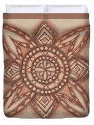 Sepia Zen 2 Duvet Cover