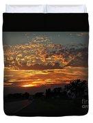Sept Sunset Duvet Cover