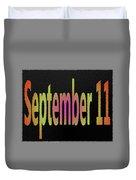 September 11 Duvet Cover