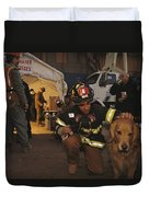 September 11th Rescue Workers Receive Duvet Cover
