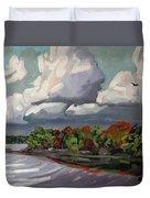 September Sky 2012 Duvet Cover