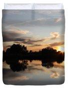 September Sunset In Prosser Duvet Cover