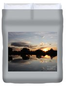 September Sunset In Prosser Duvet Cover