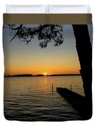 September Sunset Duvet Cover
