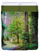 Sequoia Park #1 Duvet Cover